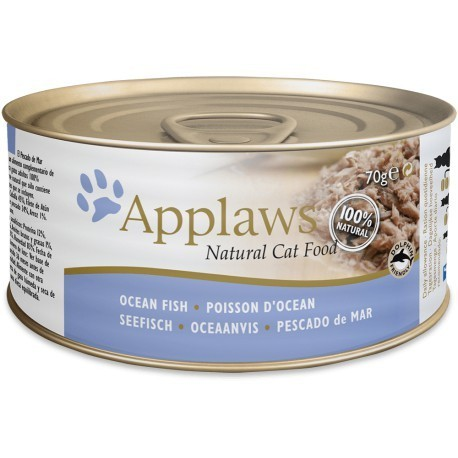 ONLY AVAILABLE FOR LOCAL DELIVERY. Applaws Cat Food Can. Ocean Fish. Large.