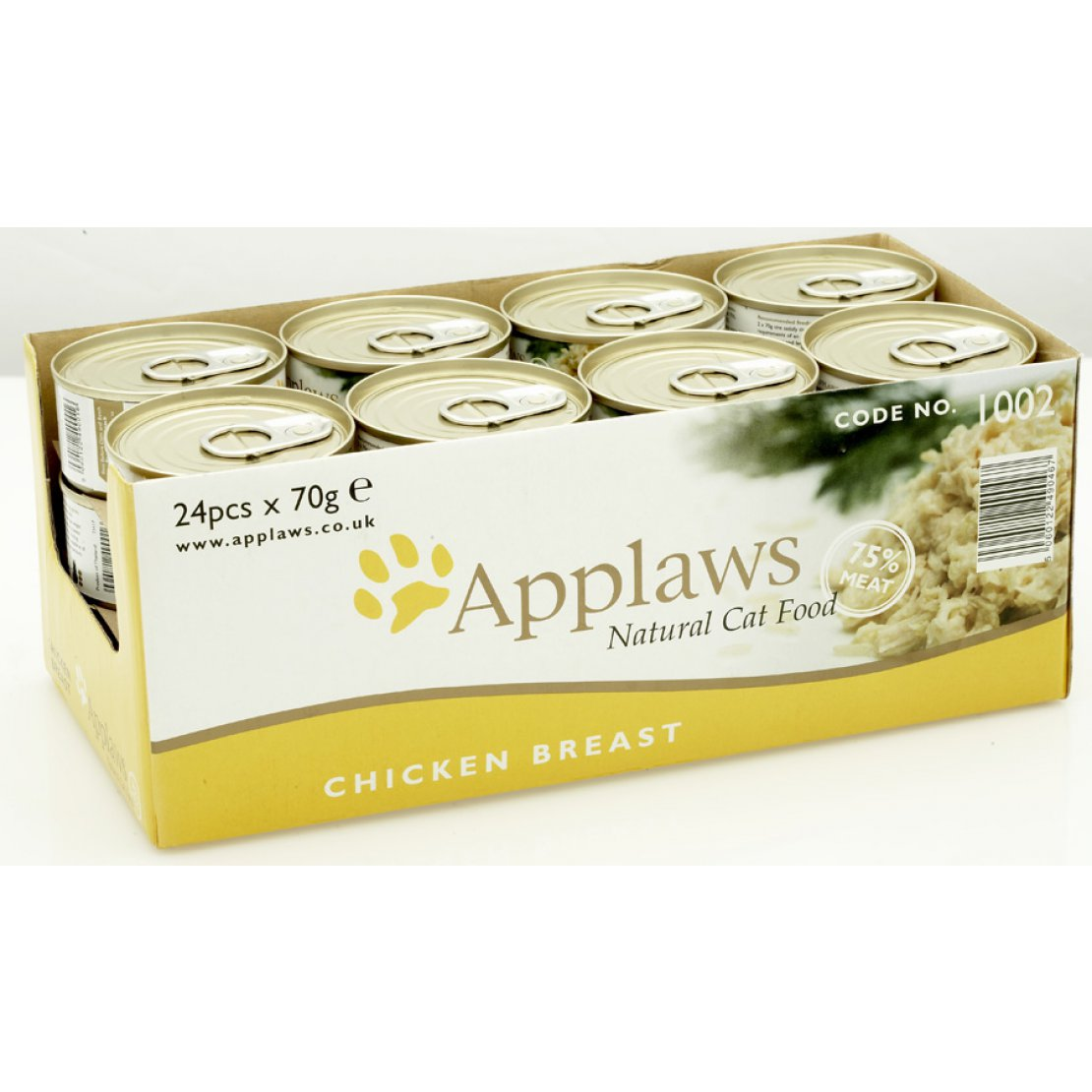ONLY AVAILABLE FOR LOCAL DELIVERY.  Applaws Cat Food Can. Chicken Breast. Small.