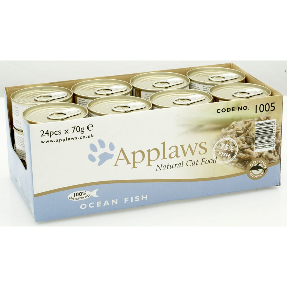 ONLY AVAILABLE FOR LOCAL DELIVERY. Applaws Cat Food Can. Ocean Fish. Small