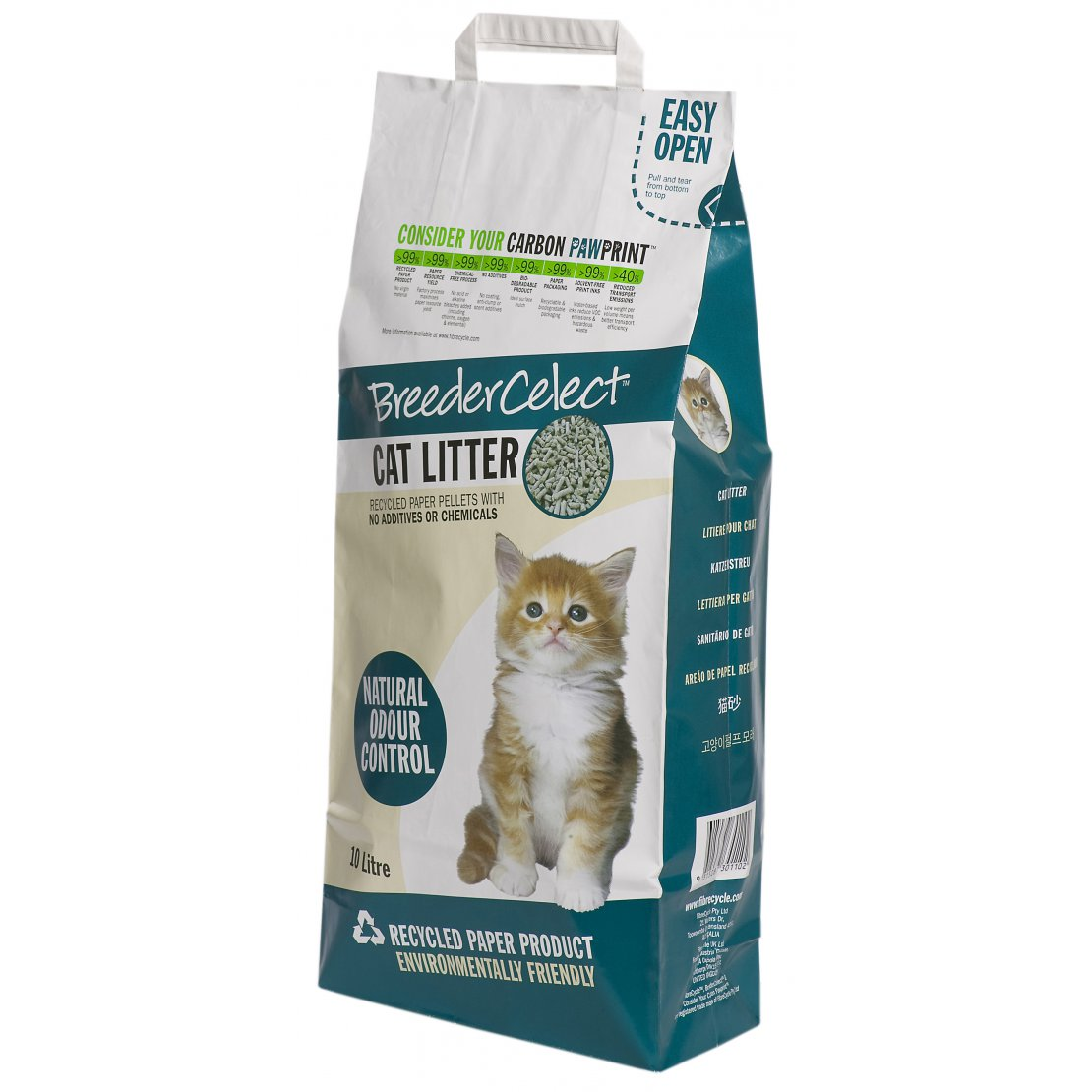 ONLY AVAILABLE FOR LOCAL DELIVERY. Breeder Celect Cat Litter 20L
