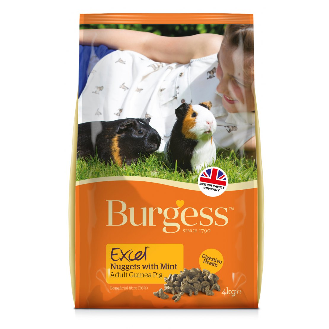 ONLY AVAILABLE FOR LOCAL DELIVERY. Burgess Excel Guinea Pig Food