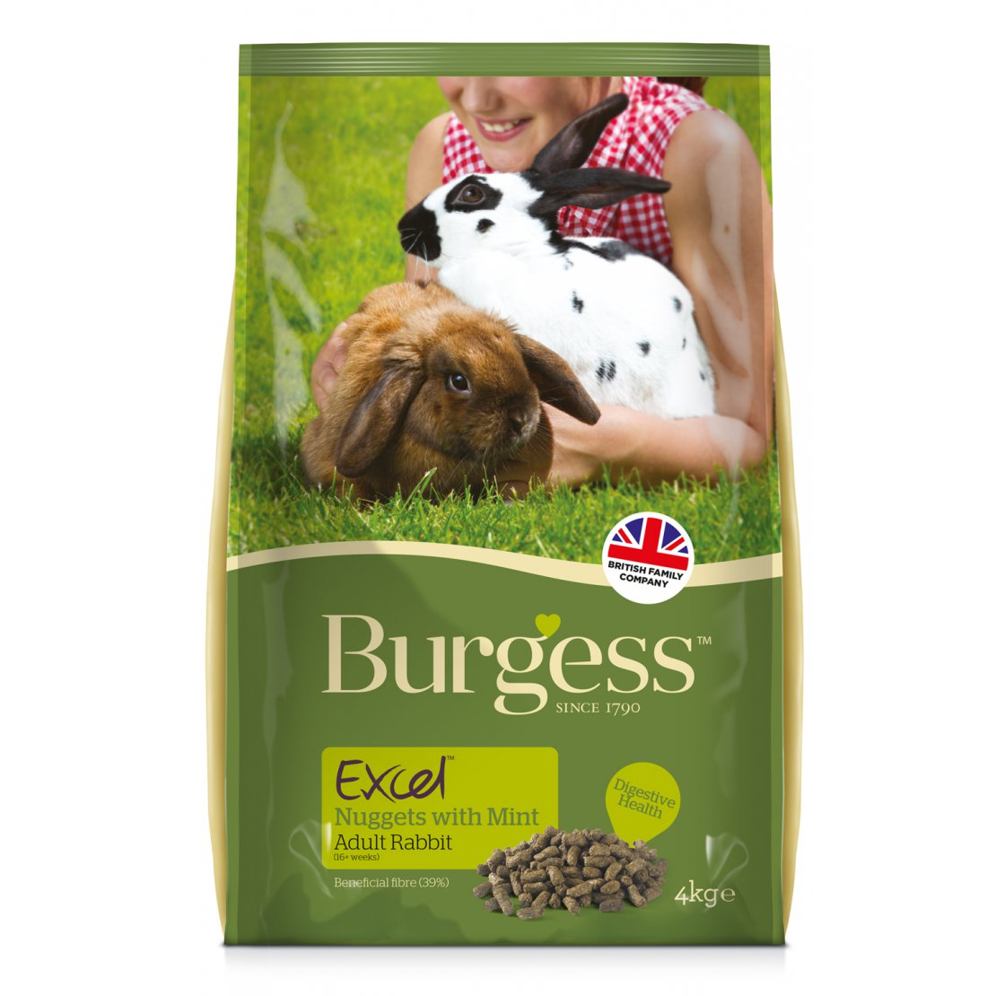 ONLY AVAILABLE FOR LOCAL DELIVERY. Burgess Excel Rabbit Food