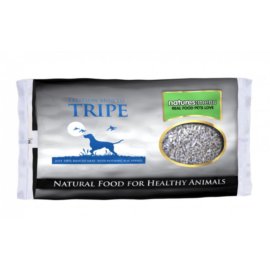 ONLY AVAILABLE FOR LOCAL DELIVERY. Natures Menu Frozen Dog Food. Freeflow Tripe