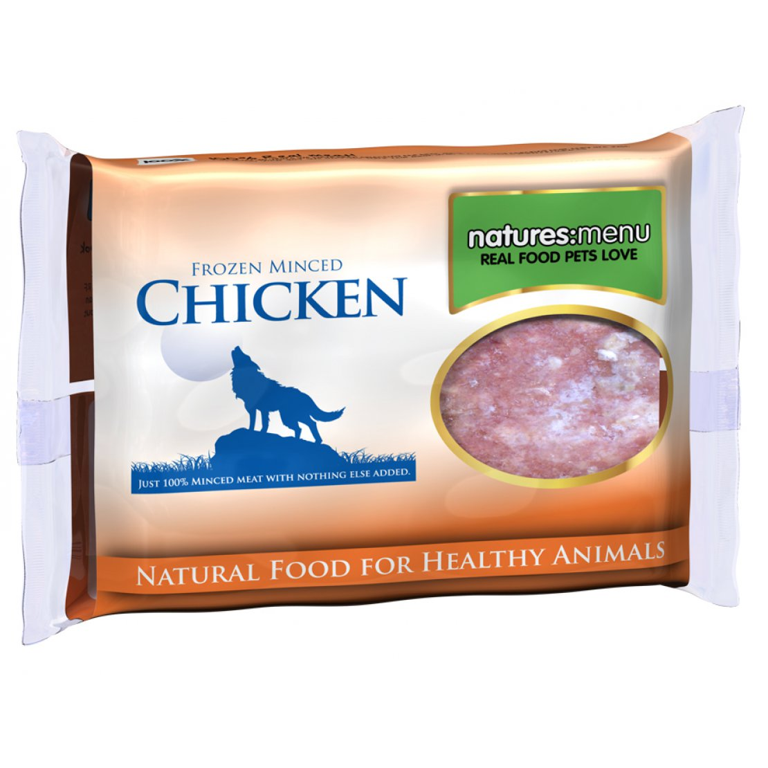 ONLY AVAILABLE FOR LOCAL DELIVERY. Natures Menu Frozen Dog Food. Chicken Mince
