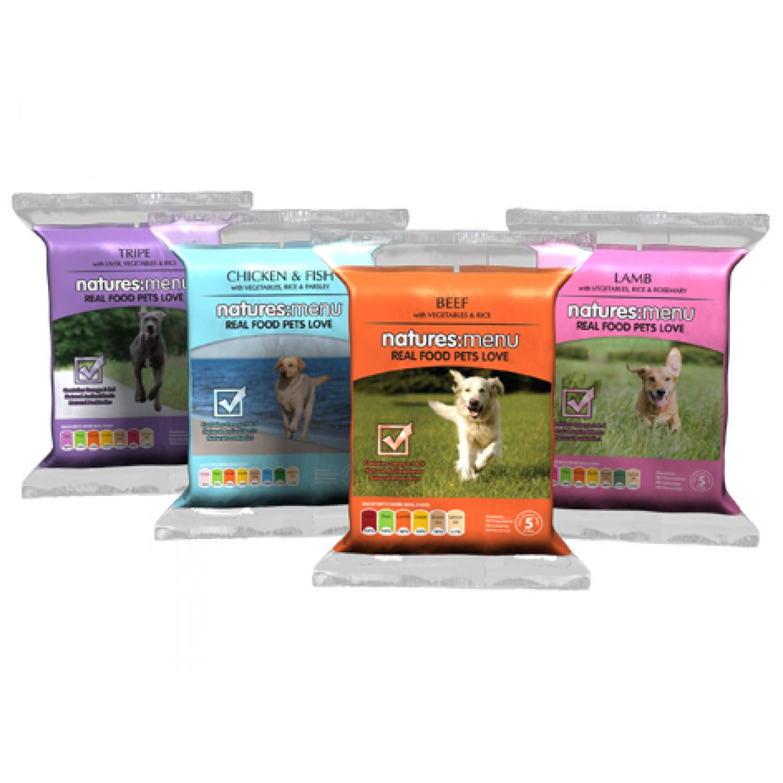 ONLY AVAILABLE FOR LOCAL DELIVERY. Natures Menu Frozen Dog Food. Raw Multi Pack
